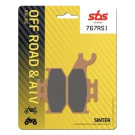 BOMBARDIER-CAN AM OUTLANDER MAX STD 650 (2007-2012) DELANTERA/DERECHA PASTILLAS FRENO SBS