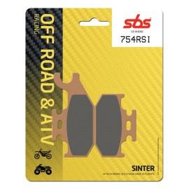 BOMBARDIER-CAN AM OUTLANDER MAX XT 650 (2007-2012) DELANTERA/IZQUIERDA PASTILLAS FRENO SBS