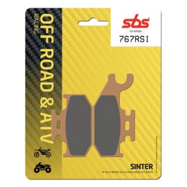 BOMBARDIER-CAN AM OUTLANDER STD 500 (2007-2012) DELANTERA/DERECHA PASTILLAS FRENO SBS