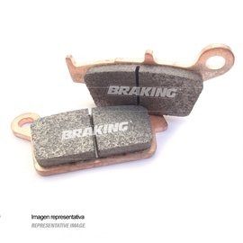 PASTILLAS FRENO OFF ROAD SINTERIZADAS BRAKING 701CM46