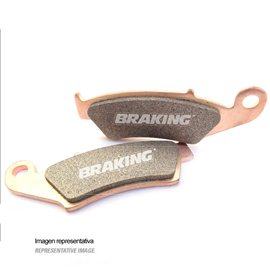 PASTILLAS FRENO OFF ROAD SINTERIZADAS BRAKING 860CM44