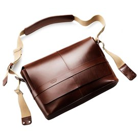 BOLSA PIEL BROOKS BARBICAN (MARRON)