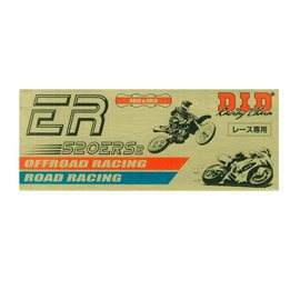 CADENA DID 520 ERS2 RACING DORADA (108 PASOS)