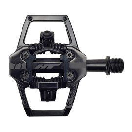 PEDALES ENDURO HT T1 (STEALTH BLACK)