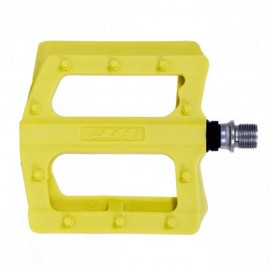 PEDALES PLATAFORMA HT PA12 (YELLOW GREEN)