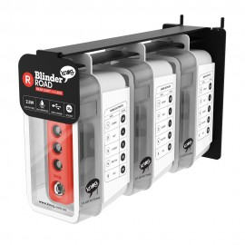 EXPOSITOR PARED + PACK DE 3 LUCES KNOG BLINDER ROAD TRAS
