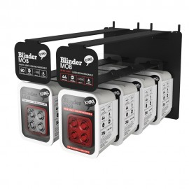 EXPOSITOR PARED KNOG BLINDER MOB V FOUR EYES + 8 LUCES