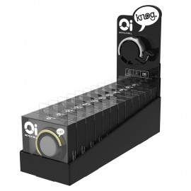 EXPOSITOR TIMBRES KNOG OI CLASSIC PEQUEÑOS (INCLUYE 12 UNIDADES)