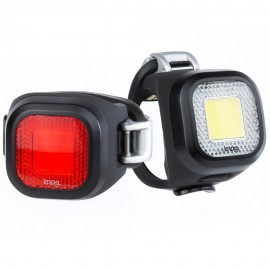 JUEGO DE LUCES KNOG BLINDER MINI CHIPPY (NEGRO)