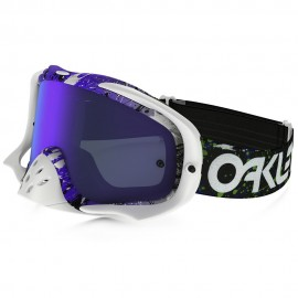 OAKLEY CROWBAR (FACTORY  SPLATTER GREEN/PURPLE)