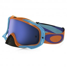 OAKLEY CROWBAR HERITAGE RACER ORANGE BLUE (LENTE ICE IRIDIUM)