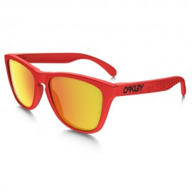 OAKLEY FROGSKINS MATTE RED (LENTES FIRE IRIDIUM)