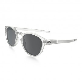 OAKLEY LATCH MATTE CLEAR (LENTES BLACK IRIDIUM)