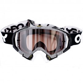 OAKLEY MAYHEM PRO FACTORY PILOT THUMBPRINT BLACK WHITE (LENTE PRIZM)