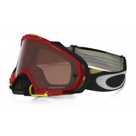 OAKLEY MAYHEM PRO HERITAGE RACER RED YELLOW (LENTE PRIZM BRONZE)