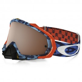 OAKLEY MAYHEM PRO TLD CHEETAH (BLUE/BLACK IRIDIUM)