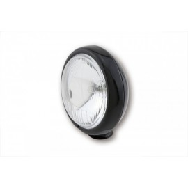 4 1/2 INCH HIGH BEAM HEADLIGHT SHINY BLACK