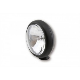 4 1/2 INCH HIGH BEAM HEADLIGHT MATTE BLACK
