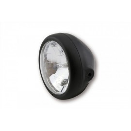 5 3/4 INCH MAIN HEADLIGHT PECOS MATTE BLACK