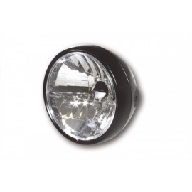 6-1/2 INCH CLEAR LENS MAIN HEADLAMP FOR SIDE MOUNT E-MARK