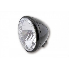 6-1/2 INCH MAIN HEADLAMP EL PASO SHINY BLACK