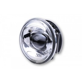 4 INCH LED HEADLIGHT LOW BEAM INSERT CHROME