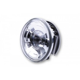 4 INCH LED HEADLIGHT HIGH BEAM INSERT CHROME