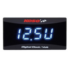 VOLT METER/CLOCK FOR ALL 12 VOLT DC BATTERIES