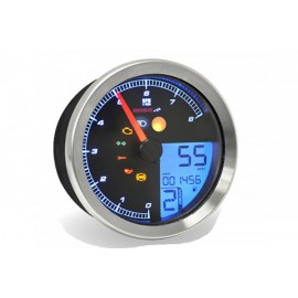 TACHOMETER/TACHOMETER FOR YAMAHA XV950/BOLT/YAMAHA SCR950 WITH CHROME RING WITH ABE