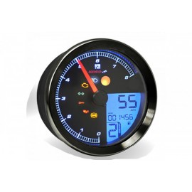 TACHOMETER/TACHOMETER FOR YAMAHA XV950/BOLT/YAMAHA SCR950 WITH BLACK RING