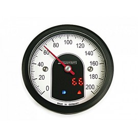 ANALOGUE SPEEDOMETER MOTOSCOPE TINY BLACK