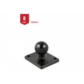 RECTANGLE BASE - 2 INCH X 1.7 INCH WITH 1 INCH B-BALL