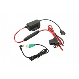 GDS MODULAR HARDWIRED CAR CHARGER WITH DC CABLE