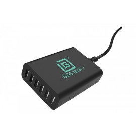 GDS 6 PORT USB CHARGER 60W 110V-240V