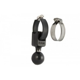 1.5 INCH C-BALL BASE WITH STRAP - 0.5 INCH TO 2 INCH DIAMETER