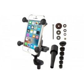 FORK STEM MOUNT FOR SMARTPHONES SHORT ARM - RAM-B-176-A-UN7U
