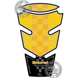 PROTECTOR DEPOSITO 2PCS YELLOW BMW F800R
