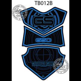 PROTECTOR DEPOSITO 3PCS  NEGRO/AZUL BMW GS650