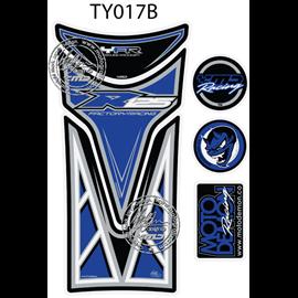 PROTECTOR DEPOSITO 6PCS AZUL YAMAHA YZF-R125