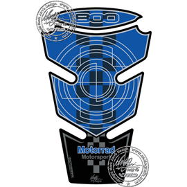 PROTECTOR DEPOSITO 2PCS AZUL BMW F800R