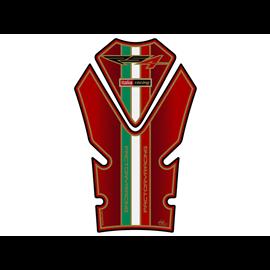 PROTECTOR DEPOSITO 2PCS ROJO APRILIA RS4 125