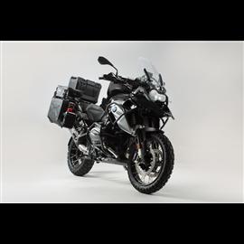 NEGRO BMW R1200GS LC (16-) / RALLYE (17-) SET DE PROTECCIÓN ADVENTURE