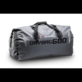 BOLSA TRASERA DRYBAG 600 60 L IMPERMEABLE GRIS/NEGRO