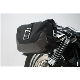 DYNA STREET BOB (06-08), LOW RIDER (06-09) LEGEND GEAR SET BOLSAS LATERALES