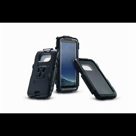 HARDCASE PARA SAMSUNG GALAXY S8 RESISTENTE AL AGUA NEGRO PARA SOPORTES DE GPS