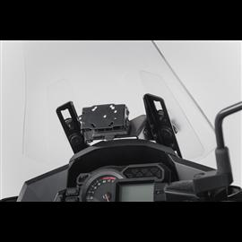 KAWASAKI VERSYS 1000 (15-17) SOPORTE DE GPS COCKPIT NEGRO