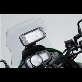 KAWASAKI VERSYS-X300 ABS (16-) SOPORTE DE GPS COCKPIT NEGRO