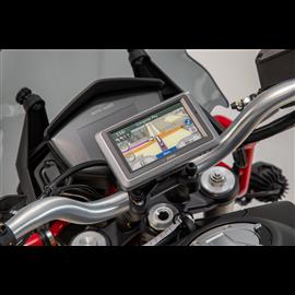 MOTO GUZZI V85 TT (19-) SOPORTE DE GPS COCKPIT NEGRO