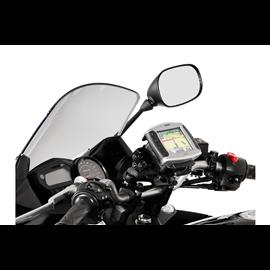 SOPORTE DE GPS QUICK-LOCK NEGRO AMORTIGUADOR