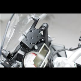 BMW S 1000 XR (15-) SOPORTE DE GPS QUICK-LOCK NEGRO